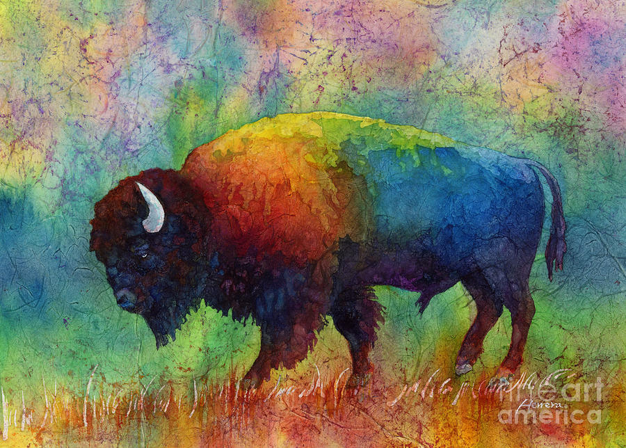 American Buffalo 6 Painting