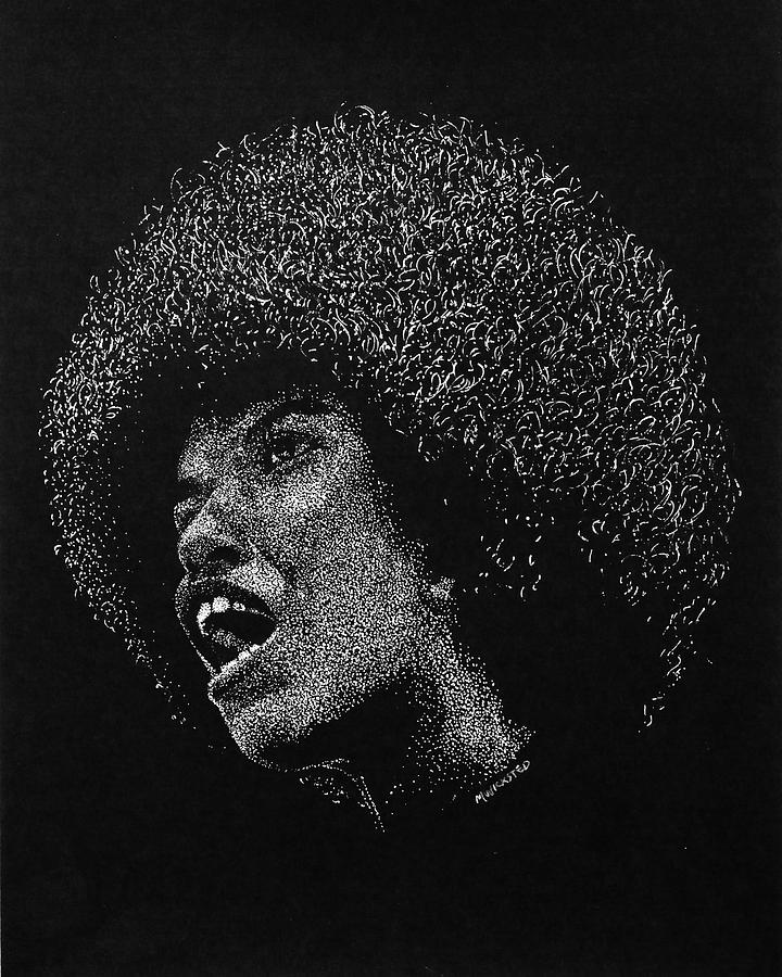 Angela Davis Painting - American Diversity by Michael Wicksted