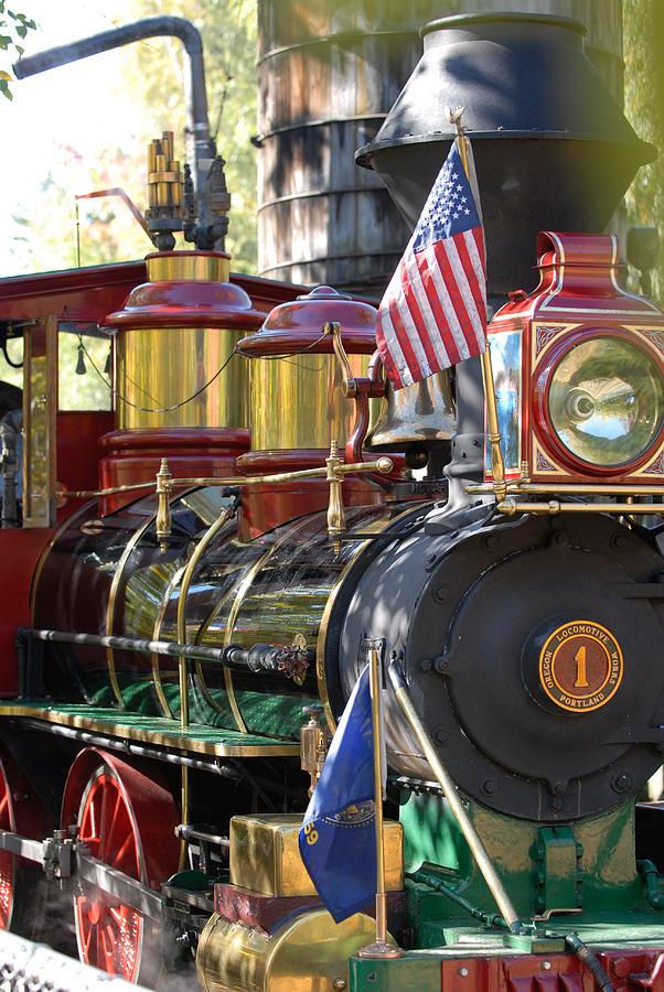Train Photograph - American Dream Train by Curtis Gibson