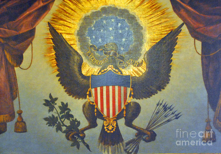 United Photograph - American Eagle by Jost Houk