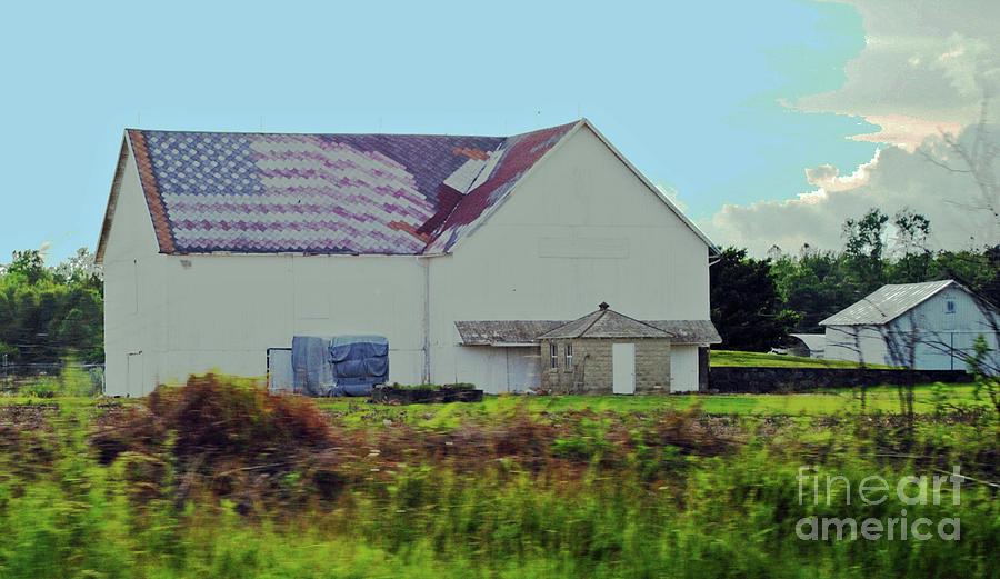 American Photograph - American Farm by Jost Houk
