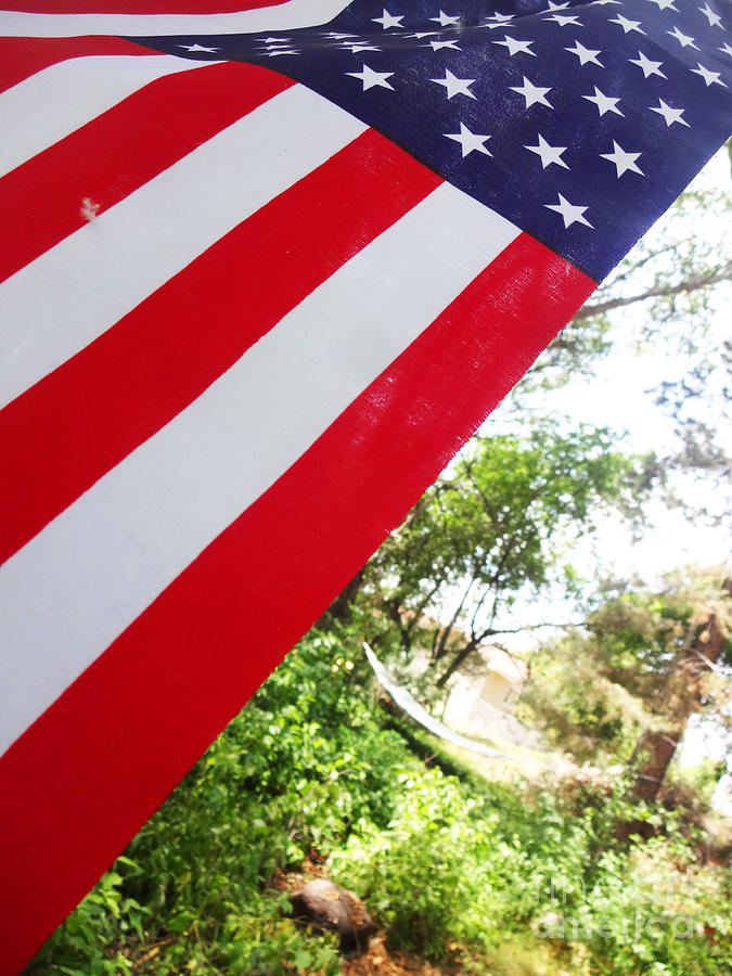 Stars Photograph - American Flag 1 by Korynn Neil