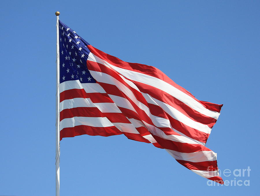Flag Photograph - American Flag by Carol Groenen