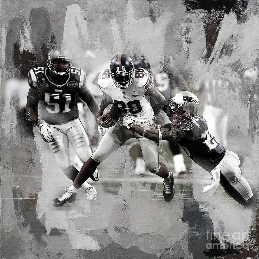 Russell Wilson Painting - American Football 02a by Gull G