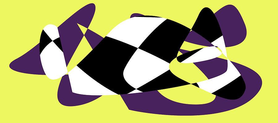 Postmodernism Digital Art - American Intellectual 17 by David Bridburg