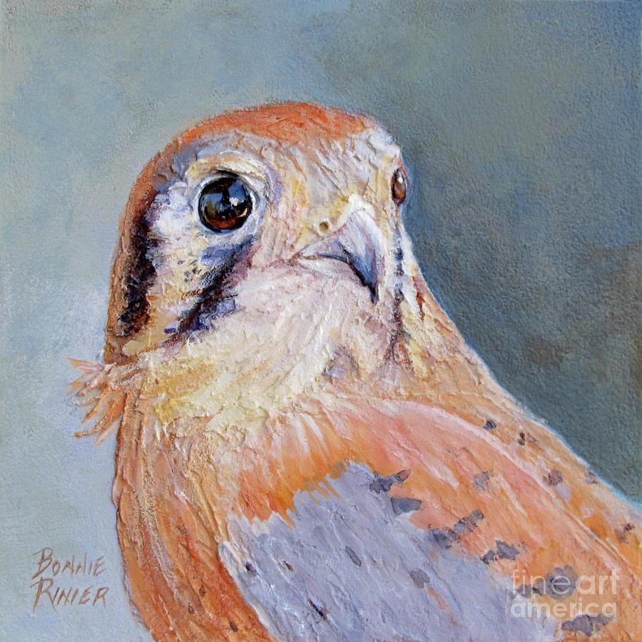Bird Painting - American Kestrel No. 2 by Bonnie Rinier