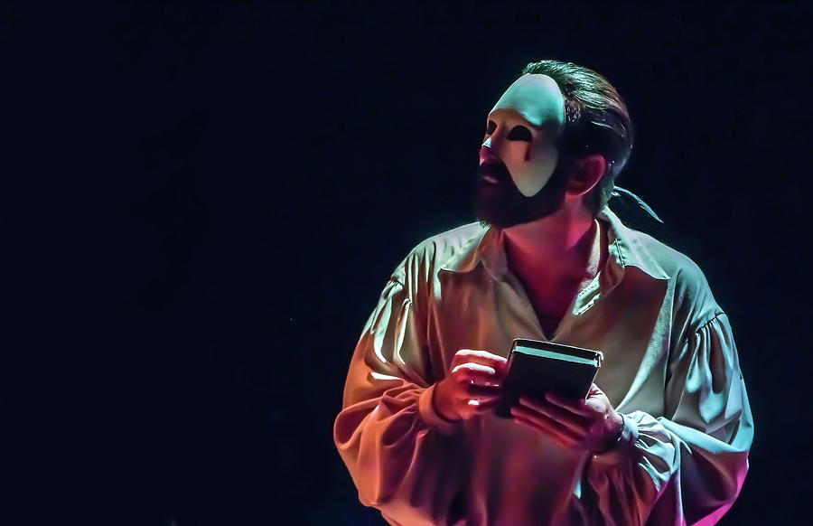 Live Theater Photograph - American Phantom  by Alan D Smith