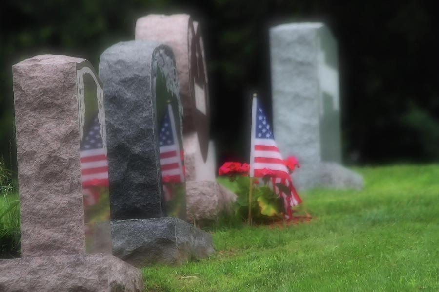 Patriotic Photograph - American Reflections by Karol Livote