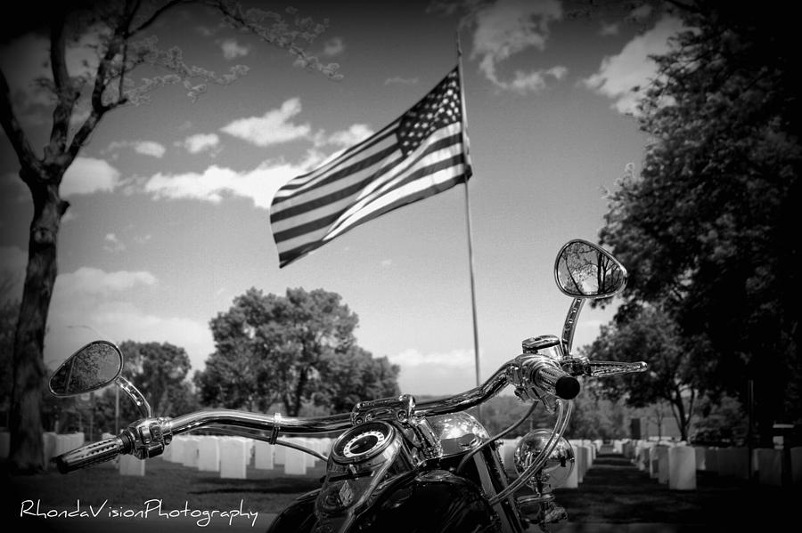 Veteran Photograph - American Renagades by Rhonda DePalma