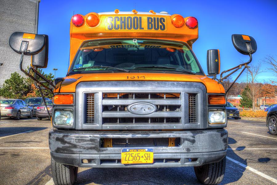 American School Bus New York