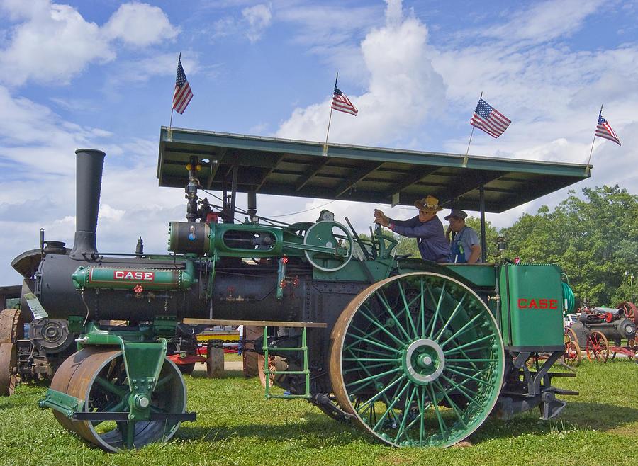 American Photograph - American Steam Roller by Robert Ponzoni