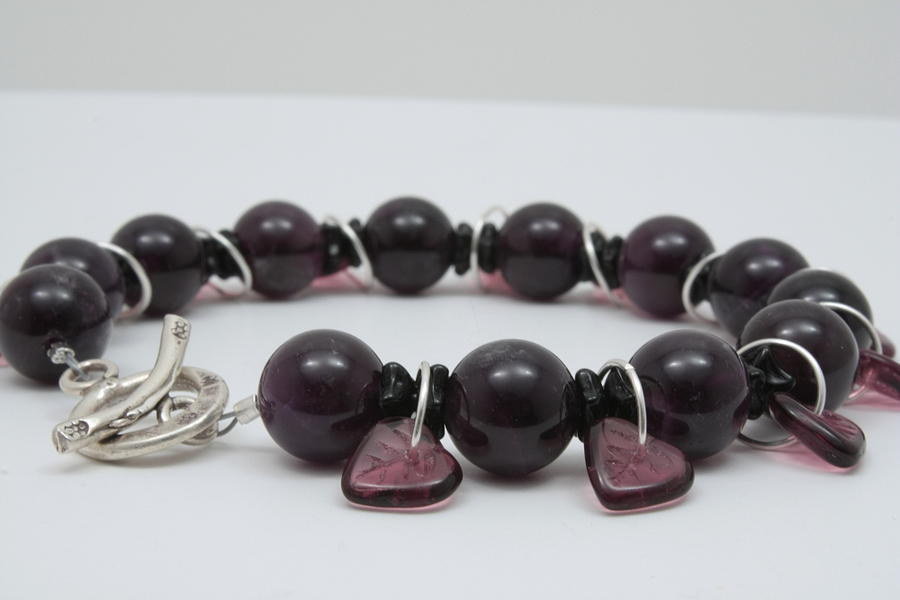 Unique Jewelry - Amethystos by Jerri Nielsen