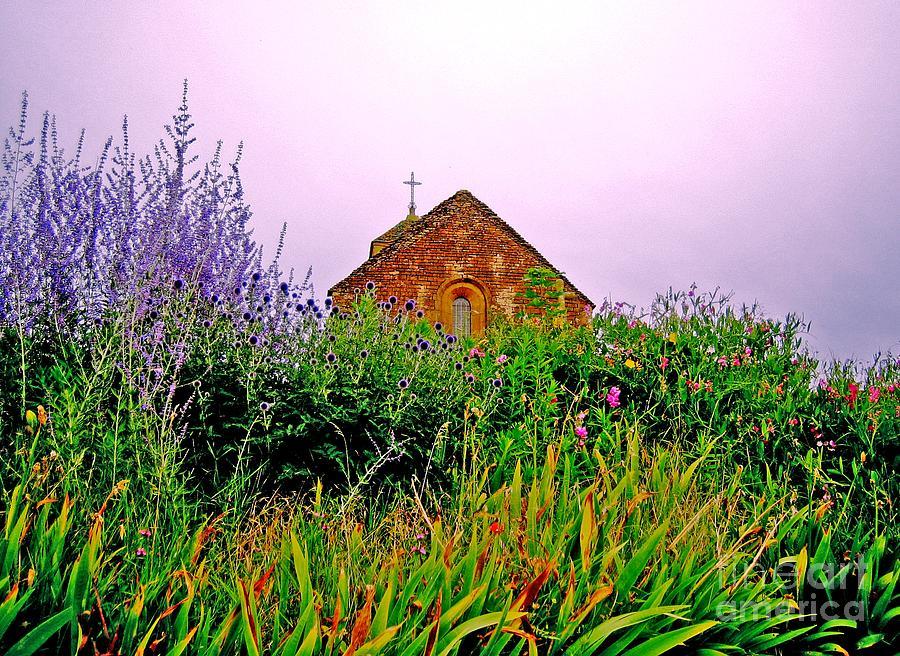 Chapel Photograph - Ameugny 3 by Jeff Barrett