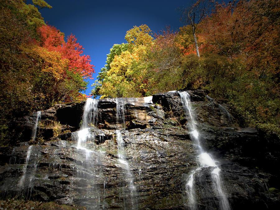 Amicalola Photograph - Amicalola falls by Dick Goodman