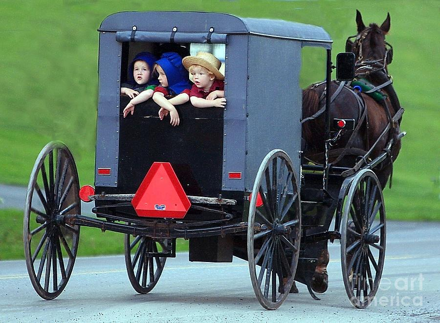 Lancaster Photograph - Amish Country Tour by Randy Matthews