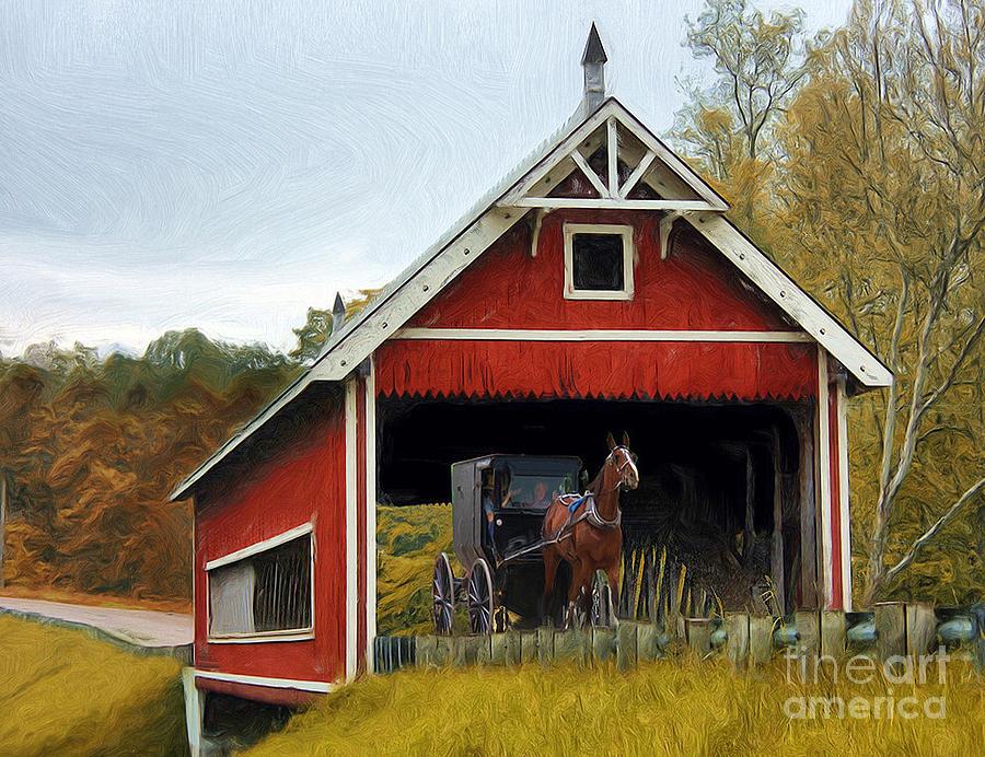 Amish Photograph - Amish Era by Tom Griffithe