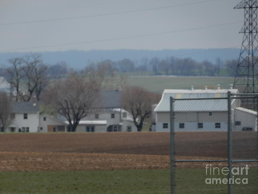 Amish Photograph - Amish Farm After Harvest by Christine Clark