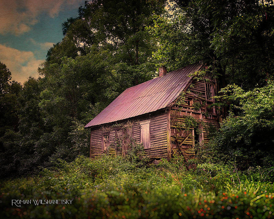 Amish House by Roman Wilshanetsky