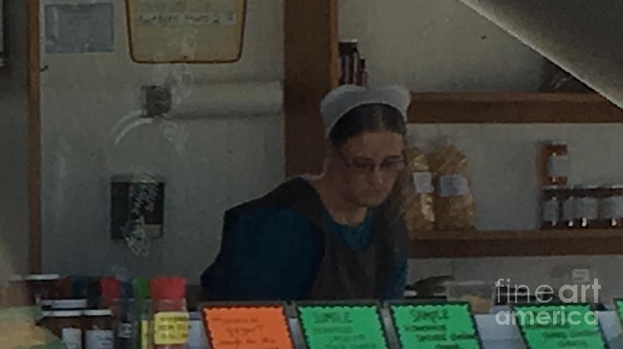 Amish Photograph -  Amish Ice Cream Stand  by Christine Clark