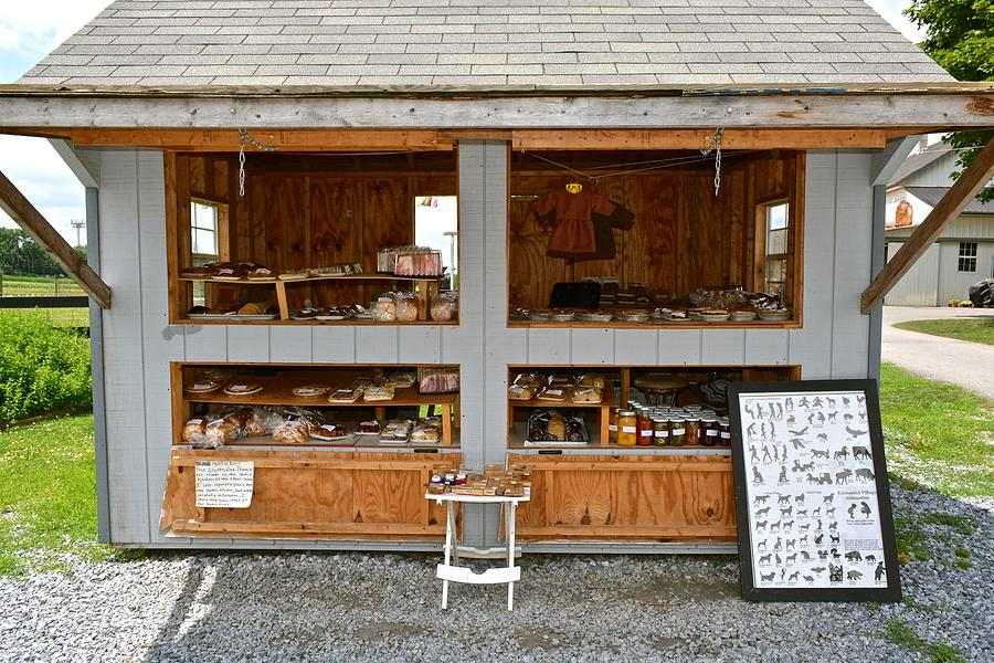 Roadside Stand Designs : Amish roadside stand photograph by tana reiff