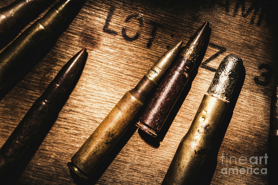 Ammo Photograph - Ammo Supplies by Jorgo Photography - Wall Art Gallery