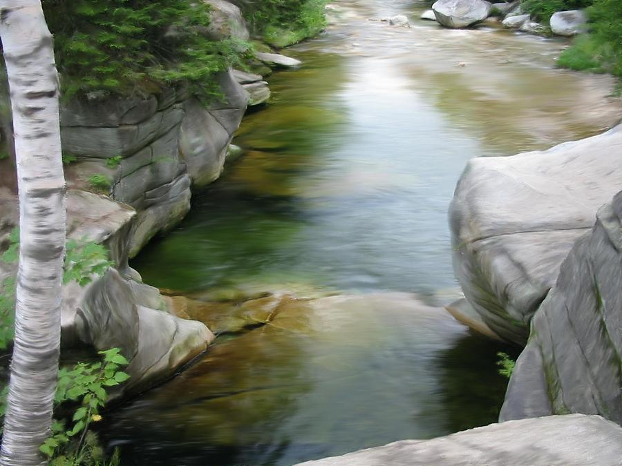 River Photograph - Ammonoosuc IIi by William Gowins