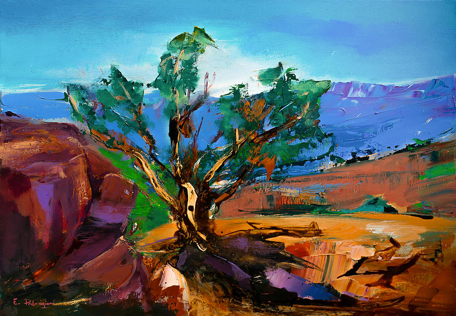 Among the Red Rocks - Sedona by Elise Palmigiani