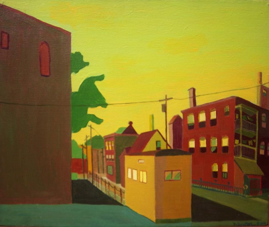 Jamaica Plain Painting - Amory Street Jamaica Plain by Debra Bretton Robinson