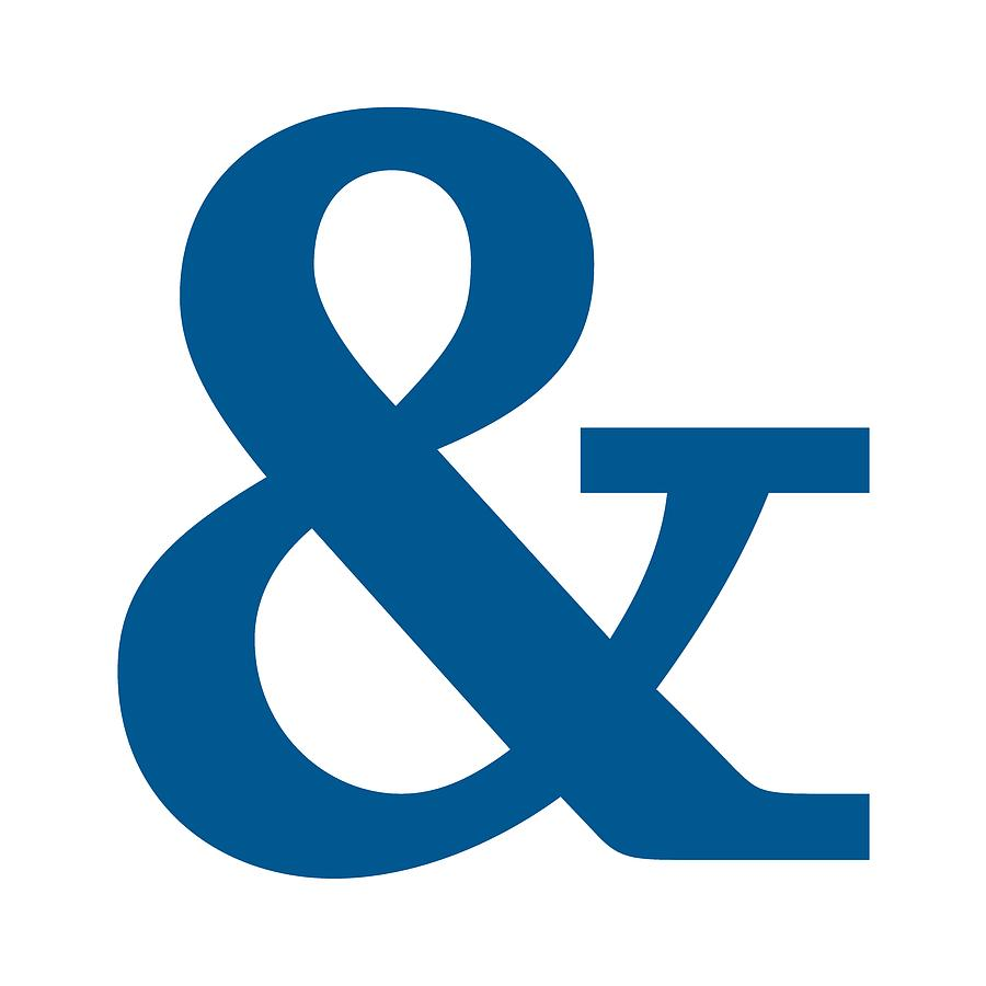Large Ampersand Wall Decor