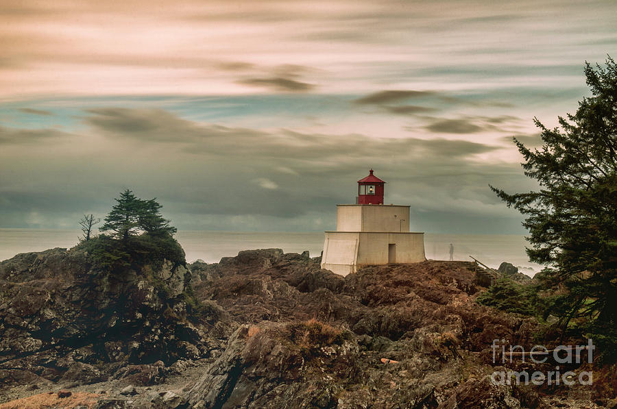 Amphitrite Point Lighthouse by Von McKnelly