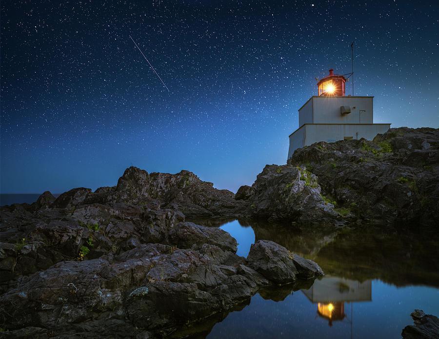 Amphitrite Point Lighthouse Photograph