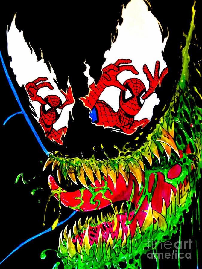 Ams Venom Drawing