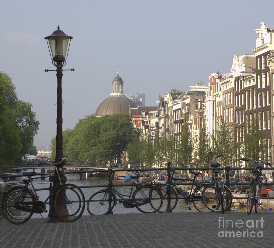 Amsterdam Photograph - Amsterdam Bridge by Andy Smy