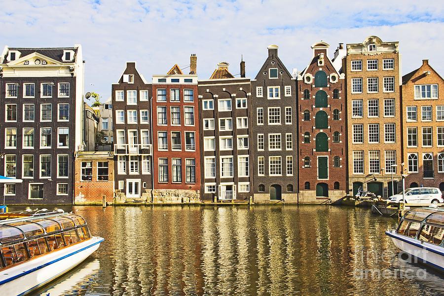 Age Photograph - Amsterdam Canal by Giancarlo Liguori