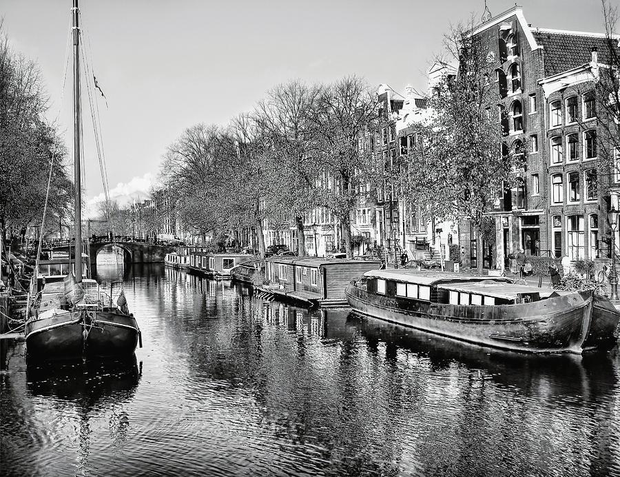 Amsterdam Photograph - Amsterdam Canal by Jacky Gerritsen