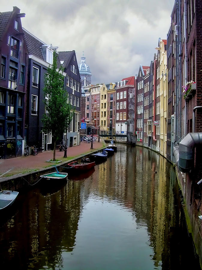 Amsterdam Photograph - Amsterdam by Heather Applegate