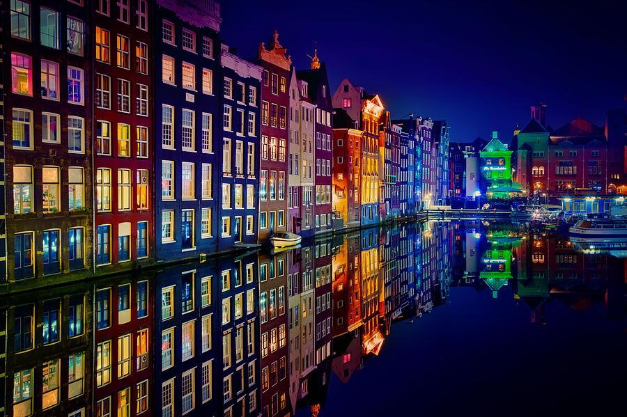 Amsterdam Photograph - Amsterdam by Juan Pablo Demiguel