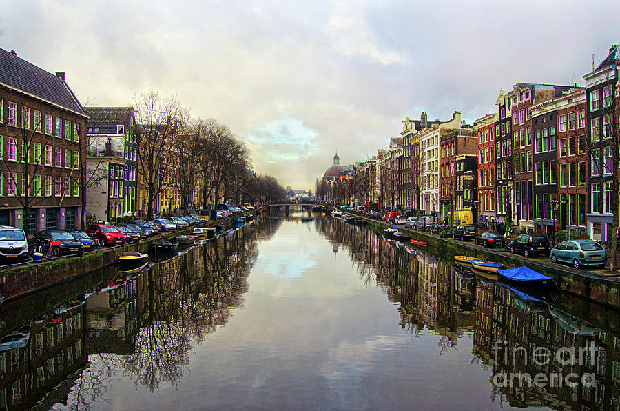 Amsterdam Reflected Photograph