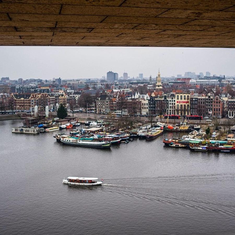 Beautiful Photograph - Amsterdam Skyline by Aleck Cartwright
