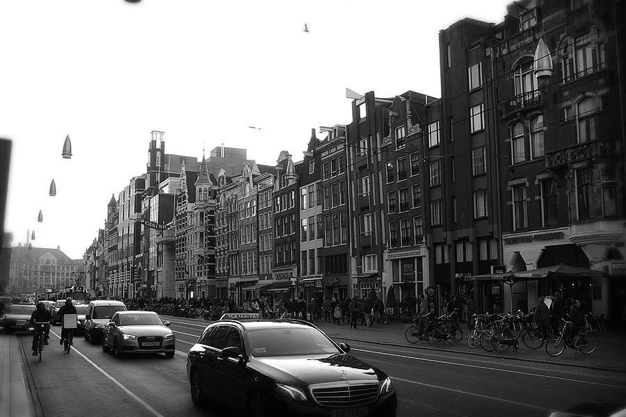 Amsterdam Traffic 2 by Scott Hovind