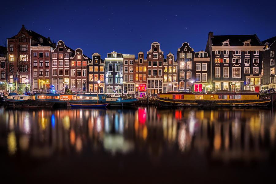 Amsterdam Photograph - Amsterdamn by Martin Podt