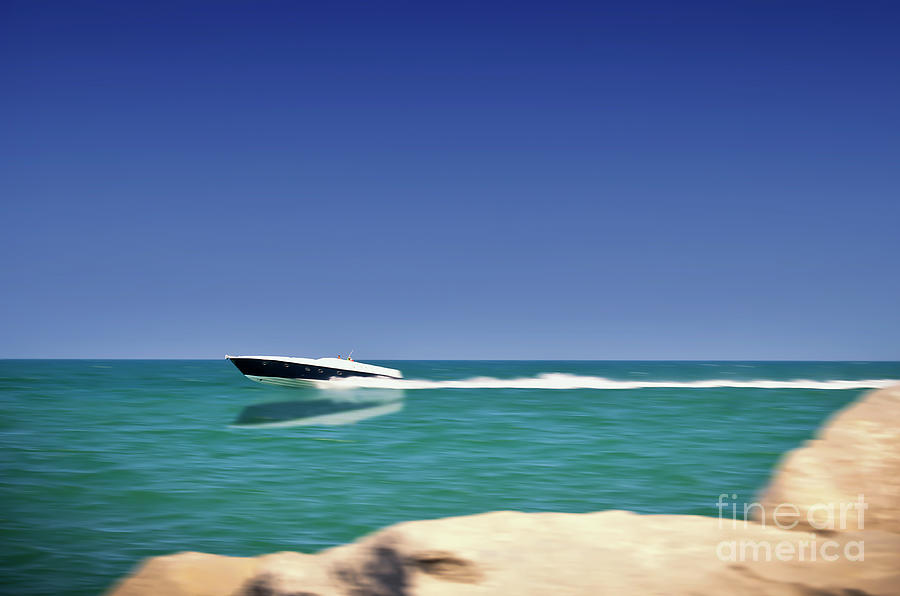 Amusing Photograph - Amusing Speed by Alessandro Giorgi Art Photography