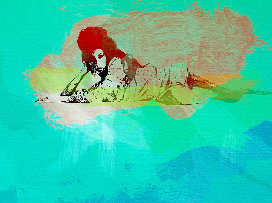 Amy Winehouse Painting - Amy Winehouse 3 by Naxart Studio