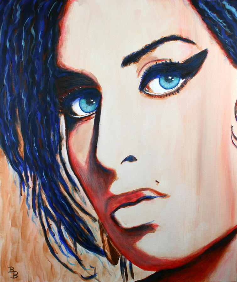 Amy Winehouse Back to Blue by Bob Baker