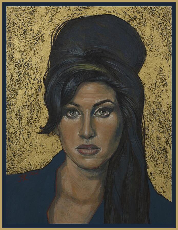 Amy Winehouse Painting - Amy Winehouse by Jovana Kolic