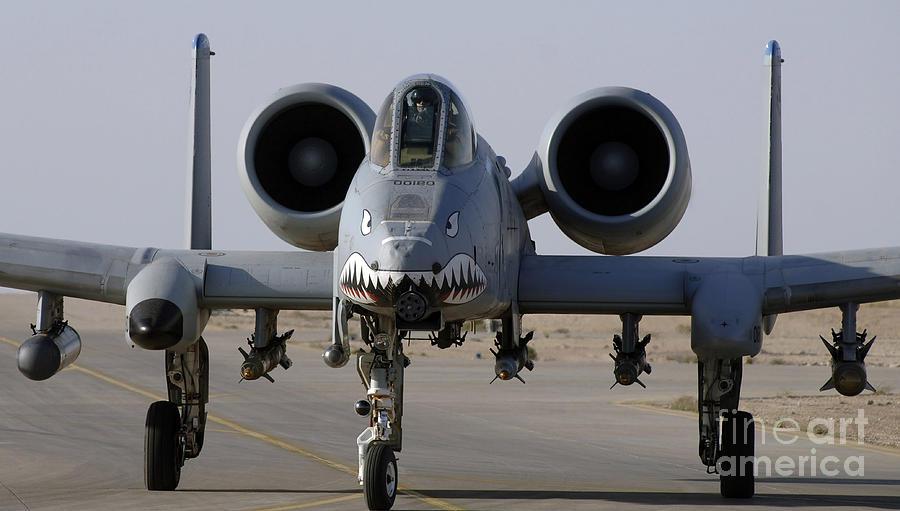 A-10 Photograph - An A-10 Thunderbolt II by Stocktrek Images