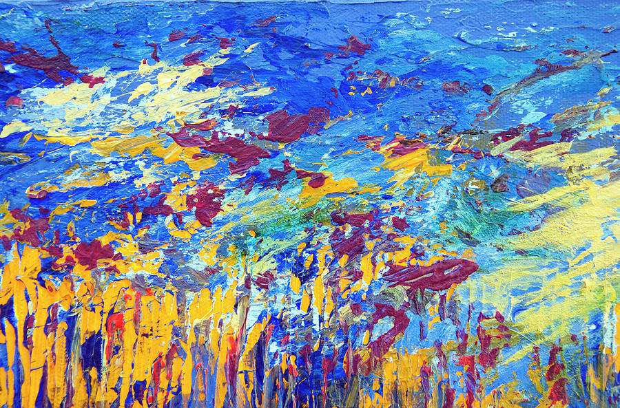 An Abstract Vision Under the Sea by Tracie L Hawkins