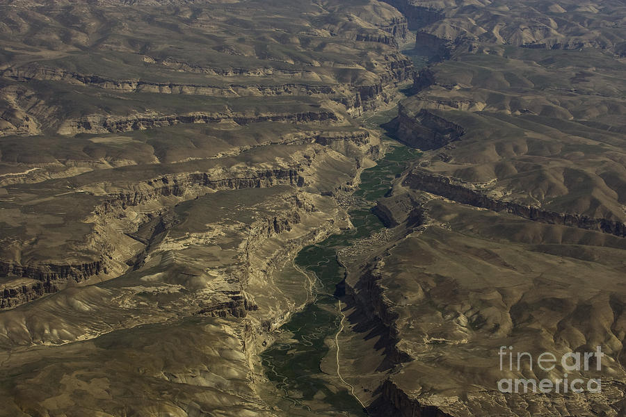 River Photograph - An Afghan Valley by Tim Grams