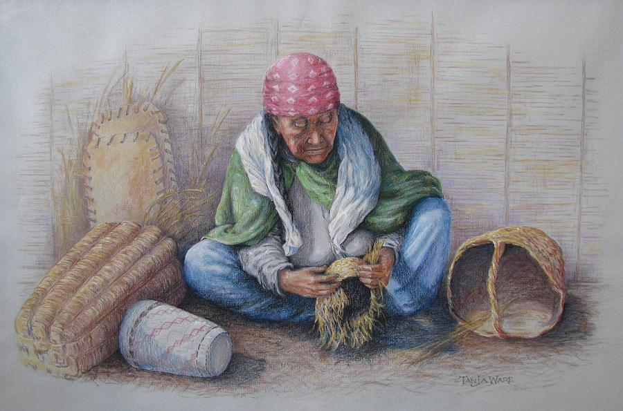 Native American Painting - An Afternoon by Tanja Ware