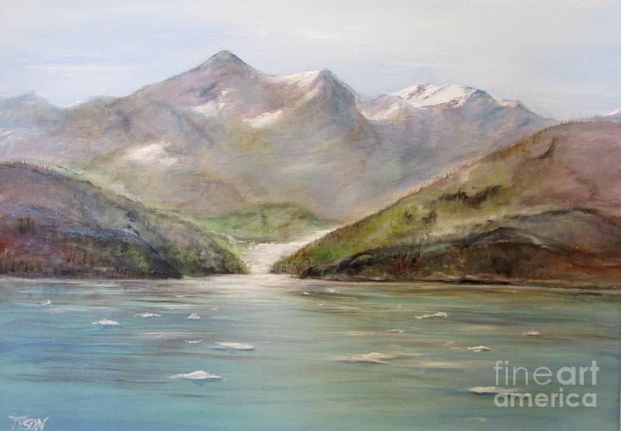 Alaska Painting - An Alaskan View by John Garland Tyson